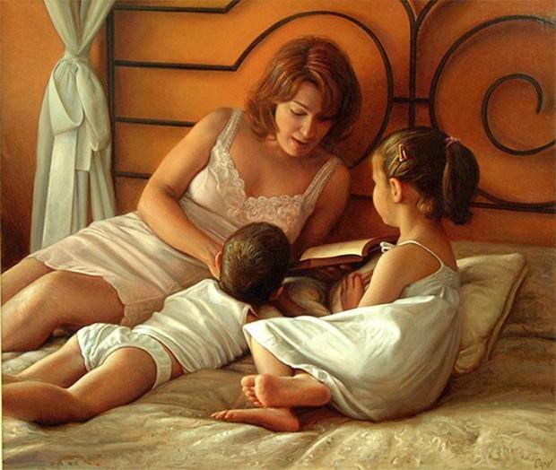 mother-child-oil-painting-antonio-guzman