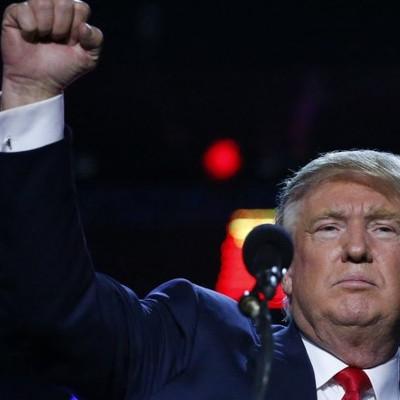 Trump signalerar politiska våld